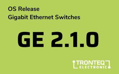 Firmware-Release GE 2.1.0